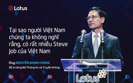 7 câu nói ấn tượng tại lễ ra mắt mạng xã hội Lotus - mạng xã hội của người Việt