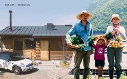 Cặp vợ chồng bỏ công việc thành phố, cùng con gái về nông thôn trồng rau làm vườn sau trận động đất lớn nhất Nhật Bản