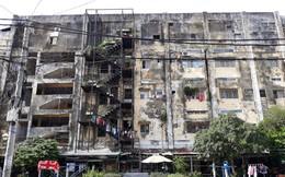 Điểm tên những chung cư cũ tại Tp.HCM xuống cấp nghiêm trọng, có nguy cơ sập bất kỳ lúc nào
