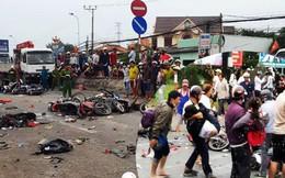 """Vụ tai nạn kinh hoàng ở Long An: """"Chiếc xe container tông thẳng vào, không ai kịp trở tay"""""""
