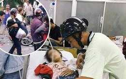 Tình người giữa đau thương: Anh xe ôm ở Long An bỏ hết công việc, bồng bế từng nạn nhân lên xe cấp cứu vào bệnh viện