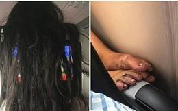 Đừng nghĩ làm tiếp viên hàng không là sướng, nhìn những hình ảnh này cũng khiến bất cứ ai giật mình khóc thét