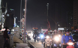 Nhà siêu mỏng chen nhau mọc lên trên đường Phạm Văn Đồng