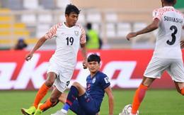 Đại bại trước Ấn Độ, Thái Lan đối diện nguy cơ lớn bị loại từ vòng bảng Asian Cup
