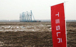 Elon Musk nhìn thấy tương lai của Tesla trong một bãi sình lầy ở Trung Quốc