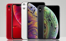 iPhone Xs Max có doanh số cao nhất, tiếp đến là iPhone XR và cuối cùng mới là iPhone Xs