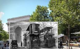 """Những bức ảnh """"xuyên thời gian"""" tái hiện Paris xưa và nay đầy sáng tạo"""