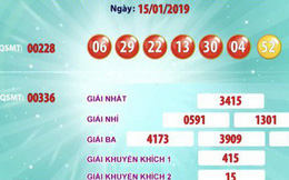 Trúng 77,2 tỉ đồng giải Jackpot 1 đầu tiên của năm 2019