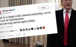 Viết sai chính tả, ông Trump bị Burger King trêu chọc