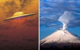 UFO xuất hiện dị thường ở núi lửa cao hơn 5000m: Căn cứ của người ngoài hành tinh?