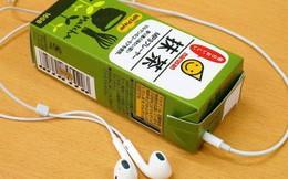 Tưởng đùa mà thật: Lấy ý tưởng từ sự lơ đãng của học sinh, công ty Nhật chế luôn máy nghe nhạc trong vỏ hộp sữa
