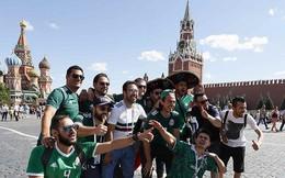 5.500 CĐV nước ngoài chưa rời khỏi Nga sau World Cup 2018
