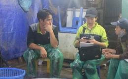 Chợ cá lớn nhất Hà Nội nhộn nhịp trước lễ ông Công ông Táo