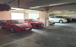 Hầm siêu xe, xe sang hàng triệu USD giữa lòng Sài Gòn