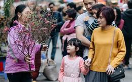 Rộn ràng không khí Tết tại chợ hoa Hàng Lược - phiên chợ truyền thống lâu đời nhất ở Hà Nội