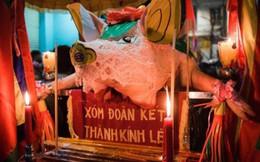 """Năm Kỷ Hợi, về thăm ngôi làng rước """"ông Lợn"""" bằng kiệu"""