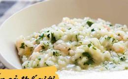 Thật không ngờ các nước phương Tây cũng có những món ăn từ gạo đặc sắc thế này
