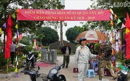 Cận cảnh trận địa pháo hoa tại Hà Nội