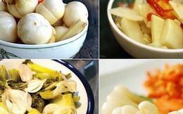 Lưu ý khi ăn các món dưa cà muối ngày Tết để không làm tăng nguy cơ hại sức khoẻ