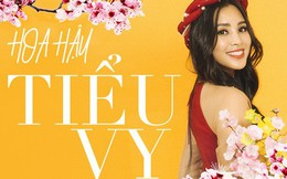 Tất tần tật về cái Tết đầu tiên là một Hoa hậu của cô nữ sinh vừa bước sang tuổi 19 Trần Tiểu Vy