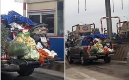 """Hình ảnh chuyến xe """"chở cả quê hương"""" quay lại Thủ đô sau kỉ nghỉ Tết Nguyên đán khiến nhiều người bật cười"""