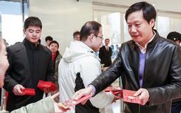 Cùng xem CEO Xiaomi Lei Jun lì xì cho nhân viên dịp năm mới