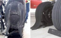 Máy bay Vietjet bục lốp khi hạ cánh xuống sân bay Tân Sơn Nhất