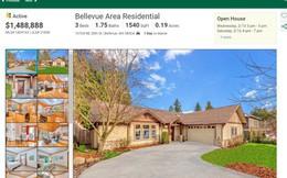 Căn nhà nơi Jeff Bezos sáng lập ra Amazon đang được rao bán với giá gần 1,5 triệu USD