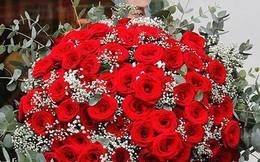 Nhiều đại gia đặt mua hoa tiền triệu tặng người yêu