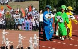 Cười ngất với những màn hoá trang ở đại hội thể thao trường học: không có lầy nhất, chỉ có lầy hơn!