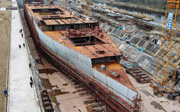 Cận cảnh tàu Titanic phiên bản nhái do Trung Quốc sản xuất: Trị giá 161 triệu USD, giống hệt tàu Titanic thật từ cái nắm đấm cửa trở đi