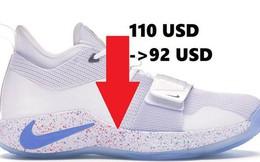 Nike ngay lập tức giảm gần 20 USD với mẫu PG 2.5 sau sự cố giày nổ