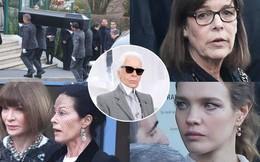 Lễ hỏa táng của huyền thoại Karl Lagerfeld: Công chúa Monaco, tổng biên tạp chí Vogue cùng dàn siêu mẫu đến tiễn đưa