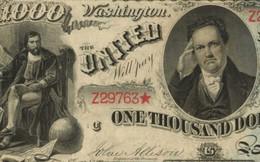 """Tờ tiền mệnh giá 1.000 USD có thể được bán giá triệu """"đô"""""""