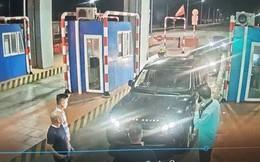 Bắt quả tang 3 học sinh ném đá vào phương tiện lưu thông trên cao tốc