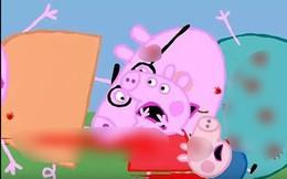 Peppa Pig, Elsa bị biến tướng thành hoạt hình máu me ghê rợn trên YouTube