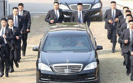 """Đội vệ sĩ chạy theo xe chủ tịch Kim Jong-un: Gia thế """"khủng"""", lá chắn sống của người đứng đầu Triều Tiên"""