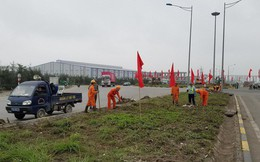 Hải Phòng: Chạy nước rút trang hoàng đô thị chào đón Đoàn Triều Tiên tới thăm