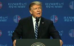 TT Trump: Triều Tiên muốn dỡ bỏ hoàn toàn cấm vận nhưng chúng tôi không làm được