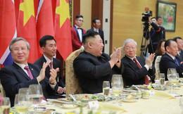 Tiệc chiêu đãi Chủ tịch Kim Jong-un tại Hà Nội qua ống kính phóng viên Triều Tiên
