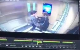 """Hà Nội: Gã """"dê xồm"""" cưỡng hôn cô gái trong thang máy chung cư, xong xuôi còn soi gương vuốt tóc, tỏ vẻ đắc ý"""