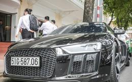 Cường Đô La 'đổi màu' Audi R8 V10 Plus, tuy nhiên đây mới là điểm đáng chú ý