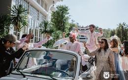 Chùm ảnh: Những khoảnh khắc ấn tượng nhất trong hôn lễ chính thức của cặp đôi tỷ phú Ấn Độ bên bờ biển Phú Quốc
