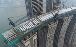 """Trung Quốc sắp hoàn thành """"nhà chọc trời nằm ngang"""" trị giá 4,8 tỷ USD ở độ cao 260m"""