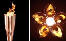 Ngọn đuốc Olympic Tokyo 2020 lấy cảm hứng từ hoa anh đào, sử dụng công nghệ sản xuất vỏ tàu siêu tốc