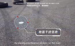 Chỉ với mẩu giấy dán mặt đường, phòng nghiên cứu bảo mật của Tencent hack thành công xe Tesla