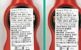 Hơn 18.000 chai tương ớt Chinsu bị thu hồi ở Nhật Bản vì chứa hoá chất cấm