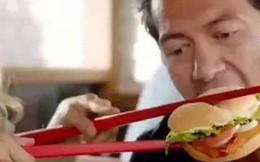 Burger King bị cáo buộc phân biệt chủng tộc khi đăng clip ăn hamburger bằng đũa 'kiểu Việt Nam'
