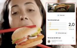 Cùng số phận với Aroma, Burger King nhận 'bão' 1 sao từ dân mạng Việt sau khi bị tố phân biệt chủng tộc