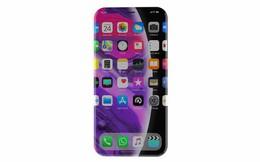Ngắm concept iPhone XII với màn hình tràn cạnh không viền, không phím vật lý, camera ẩn dưới màn hình